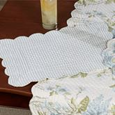 Jesamine Rectangle Placemats Eggshell Set of Four