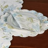 Jesamine Round Placemats Eggshell Set of Four