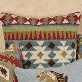 Corral Kilim Horizontal Pillow Multi Warm 18 Square