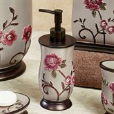 Larissa Lotion Soap Dispenser Light Taupe