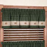 Scotch Pine Cone Tailored Valance 60 x 14