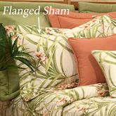 Katia Tropical Flanged Sham Light Cream
