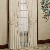 Verbena Tailored Curtain Pair Pearl 98 x 84