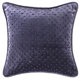 Nomad Piped Square Pillow Platinum Gray 14 Square