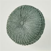 Calais Tufted Pillow Teal Round