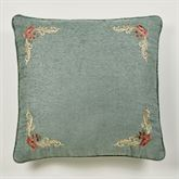 Calais European Pillow with Sham Teal