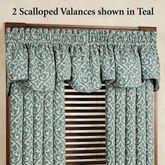 Bryce Scalloped Valance 55 x 17