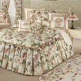 Floral Jubilee Grande Bedspread Light Cream