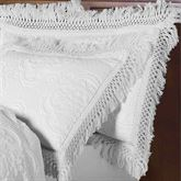 Hyde Park Fringed European Sham