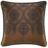 Monroe Midnight Embroidered Pillow 16 Square