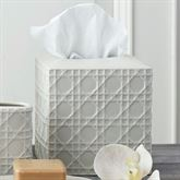 Rattan Tissue Cover Ivory