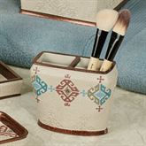 Bandera Brush Holder Multi Warm