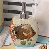 Seaside Vintage Lotion Soap Dispenser Cream
