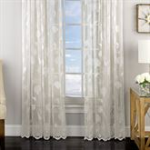 Reef Lace Tailored Curtain Panel