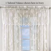Reef Lace Tailored Valance 56 x 16
