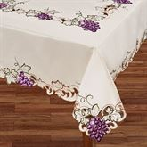 Cabernet Oblong Tablecloth Light Cream