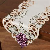 Cabernet Table Runner Light Cream