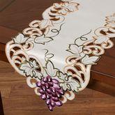Cabernet Table Runner Light Cream