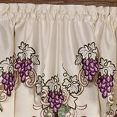 Cabernet Ascot Valance Light Cream 24 x 18