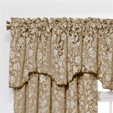 Eleanor Scalloped Valance 52 x 17