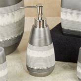 Brooklyn Lotion Soap Dispenser Brushed Silver