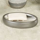 Brooklyn Soap Dish Brushed Silver