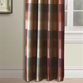 Plaid Tailored Curtain Panel