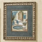 Victorian Bath II Framed Wall Art Multi Cool