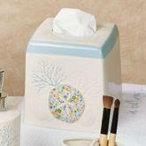 Seaside Blossoms Tissue Cover Multi Pastel