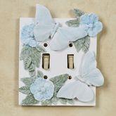 Butterfly in Bloom Pastel Double Switch