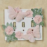 Butterfly in Bloom Pastel Triple Switch