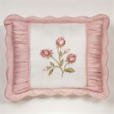 Blush Rose Embroidered Sham