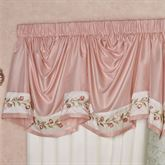 Blush Rose Empire Valance 110 x 28
