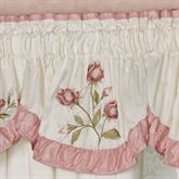Blush Rose Insert Valance 36 x 18