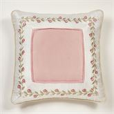 Blush Rose European Pillow with Sham