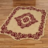 Palatial Rectangle Rug Gold