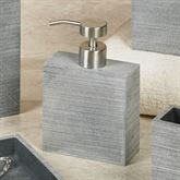 Slate Lotion Soap Dispenser Dark Gray