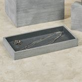 Slate Vanity Tray Dark Gray