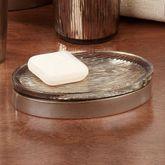 Magnolia Soap Dish Bronze