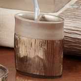 Magnolia Toothbrush Holder Bronze