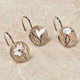 Magnolia Shower Hook Set Bronze Set of Twelve