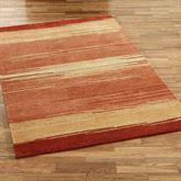 Blended Sunset Rectangle Rug Multi Warm