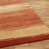 Blended Sunset Runner Rug Multi Warm 26 x 8