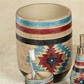 Santa Fe Wastebasket Multi Earth