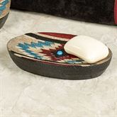 Santa Fe Soap Dish Multi Earth