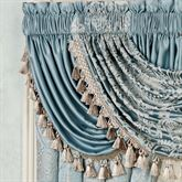 Regency Solid Waterfall Valance Parisian Blue 52 x 30