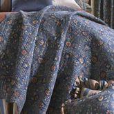Wakefield Floral Quilt Dark Blue