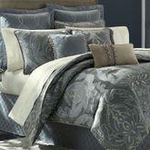 Chantal 4 pc Comforter Set Steel Blue