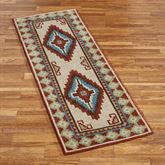 Diamond Canyon Rug Runner Cinnabar