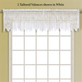 Valerie Tailored Valance 52 x 15